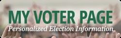My Voter Page Promo