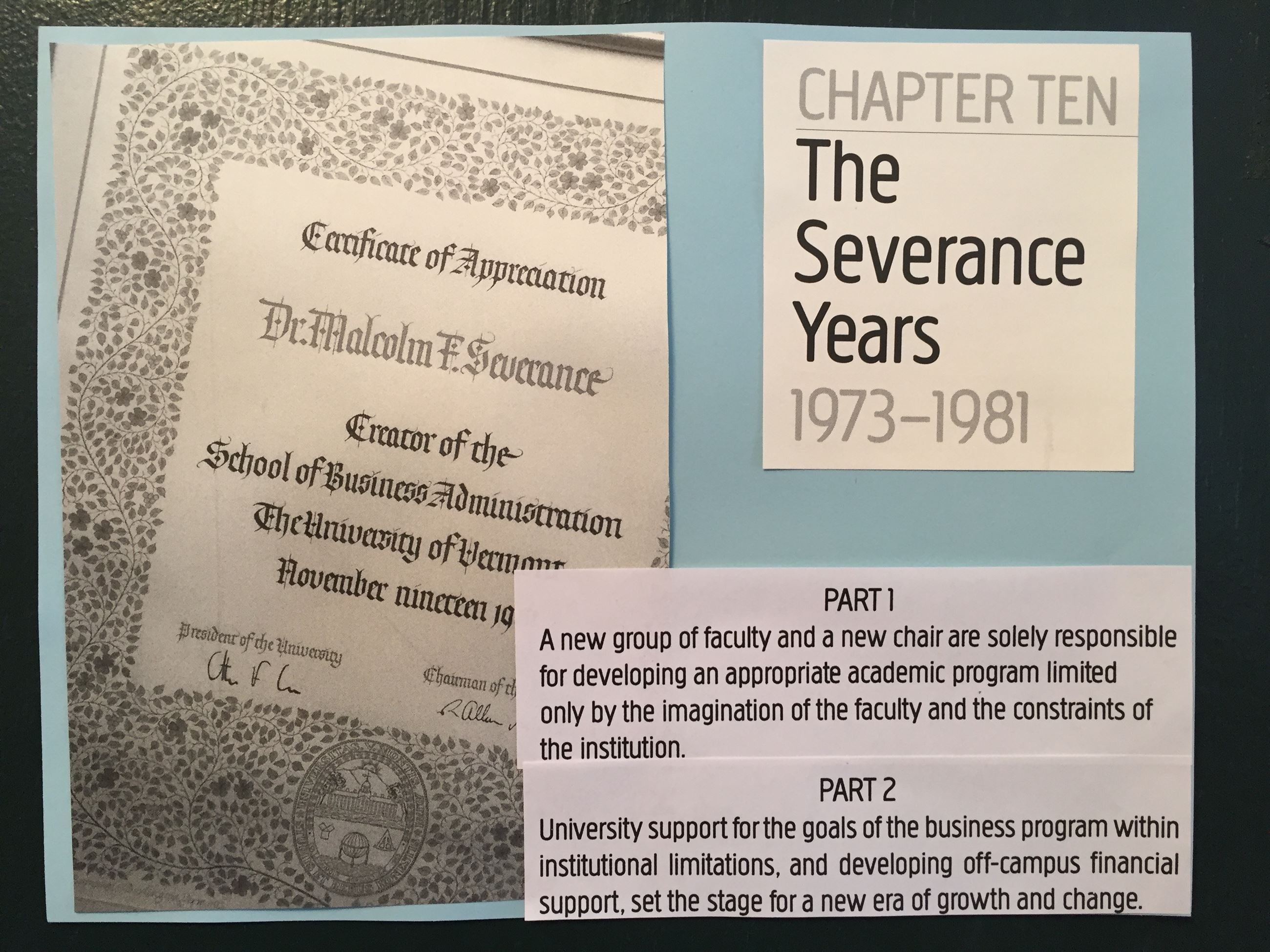 The Severance Years