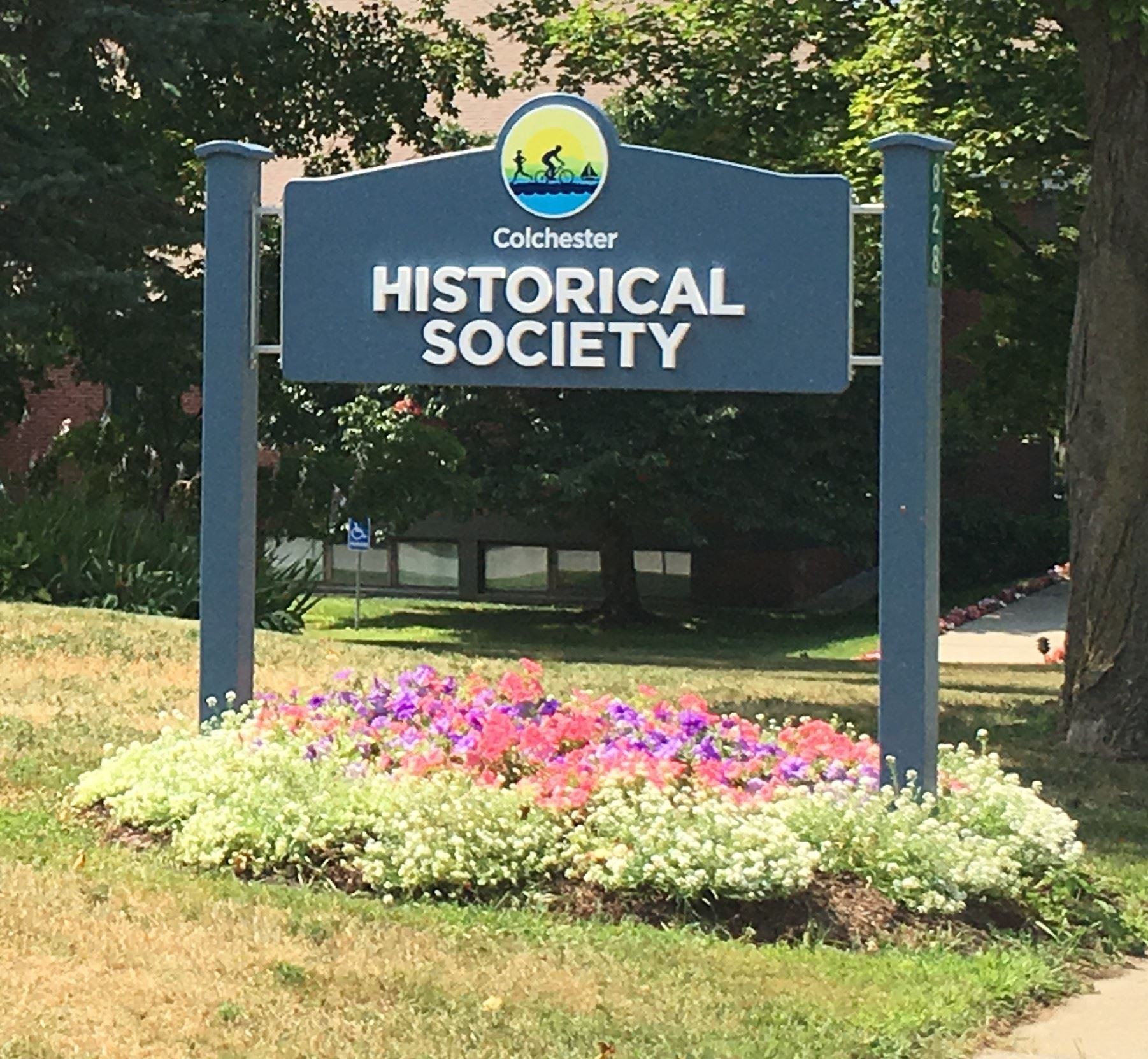 Historical Society Sign