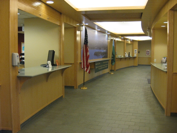 Lobby of Town Offices in Colchester