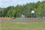 Airport basketball courts