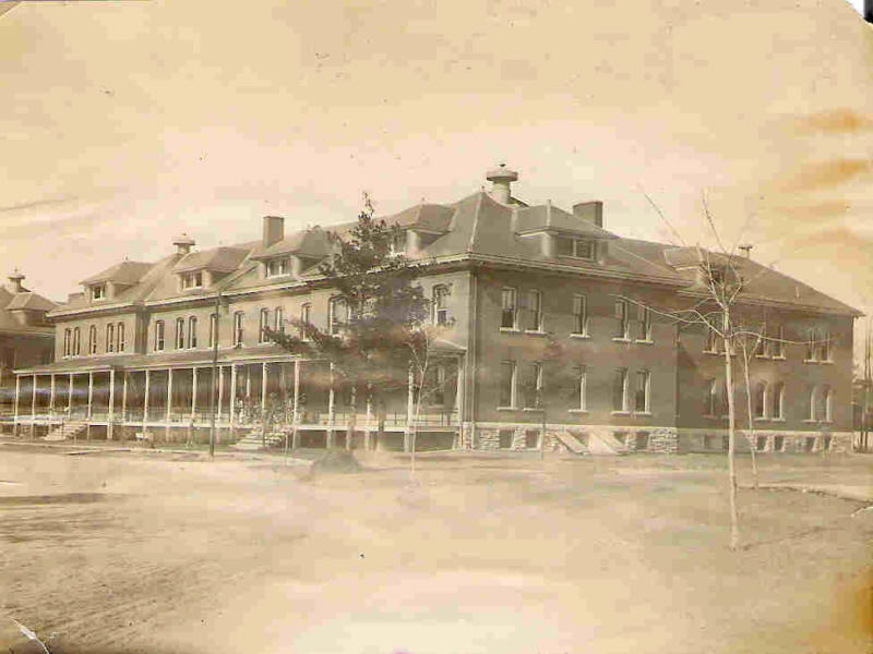Building 15 Cavalry Barracks 1900
