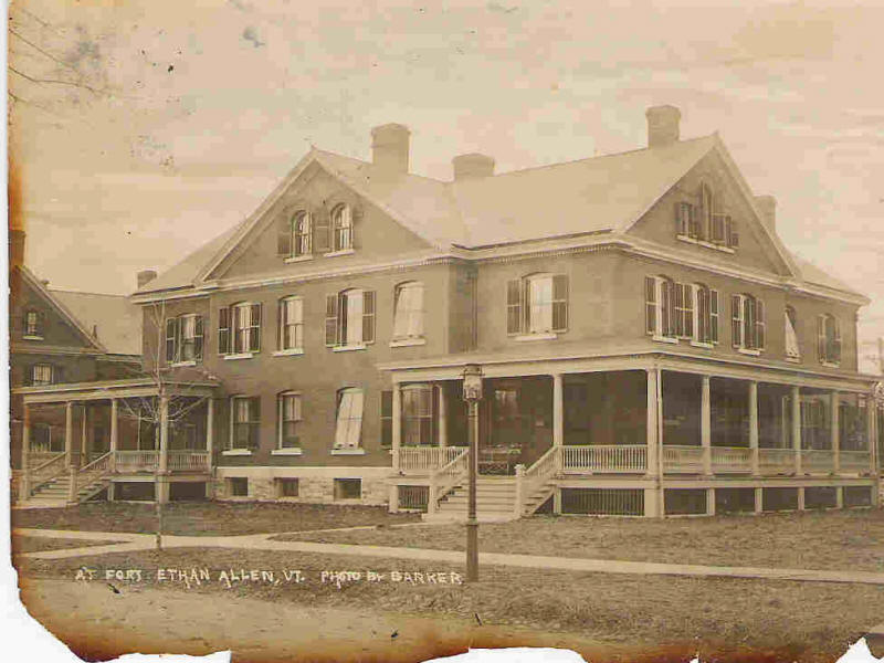 Officers Quarters 1904