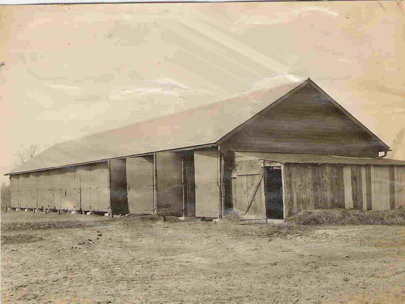 Wagon Shed 1894