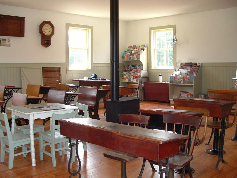 Desks and other artifacts