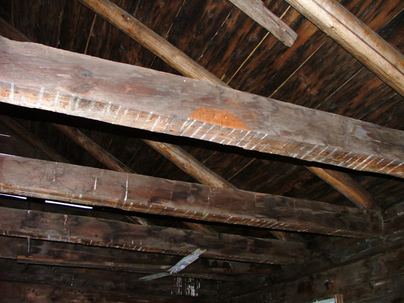 Ceiling rafters