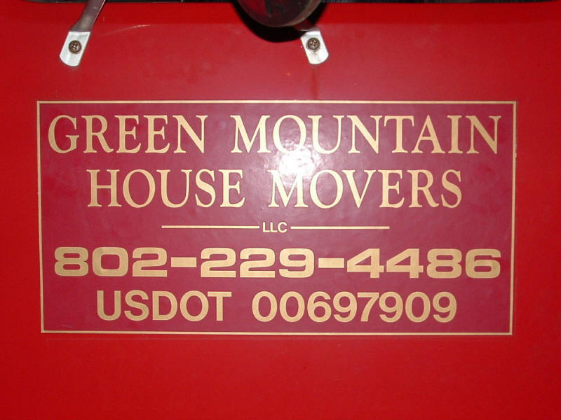 The moving contract went to Green Mountain House M