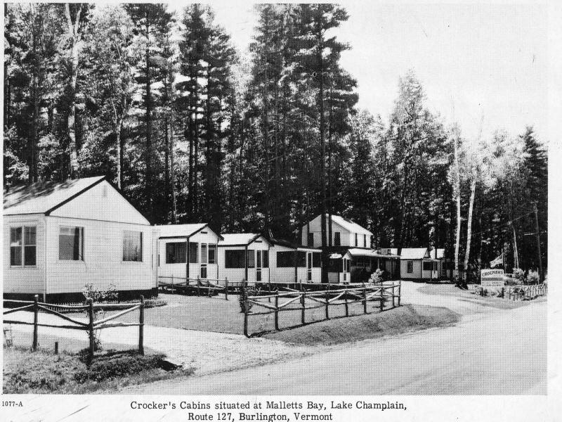 Crocker cabins Lakeshore Drive Malletts Bay