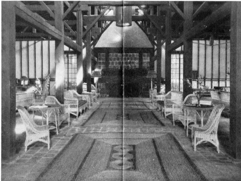 Interior of Lake Champlain Club Clubhouse