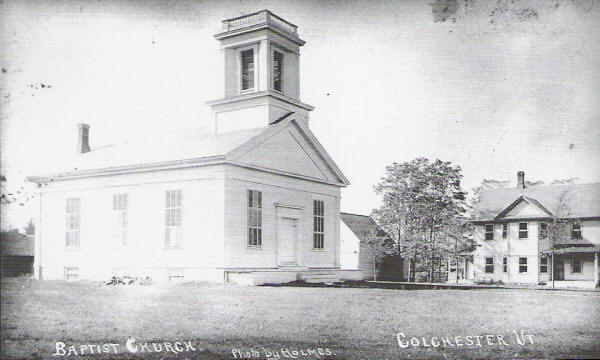 Baptist church and parsonage
