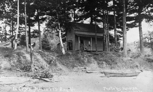 Camp Malletts Bay 1908