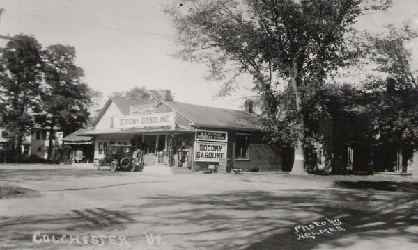 Gas station on Main Street