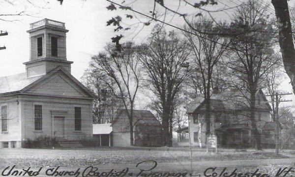 United Church and parsonage